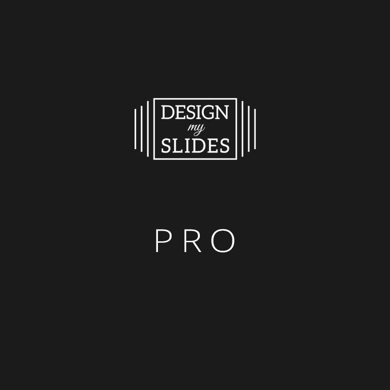 Design My Slides - Presentation Services Package - Pro